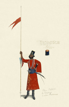 Sowar of Rohilla Cavalry, 1815 (c)