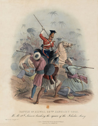 Battle of Aliwal, 28th January 1846