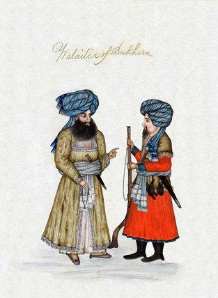 'Walaitee of Bukhara', 1850 (c)