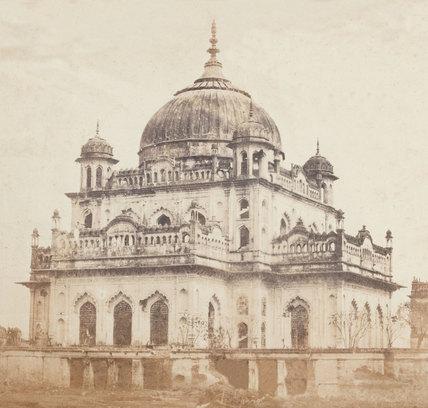 Nawab Saadat Ali Khan's Mausoleum, Lucknow, 1858