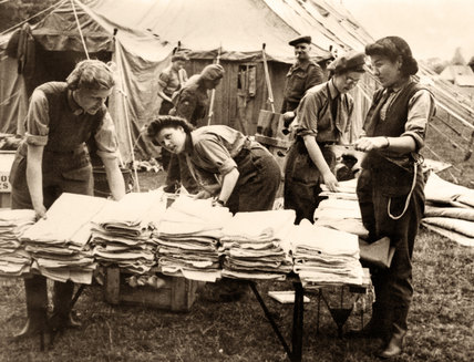 Queen Alexandra's Imperial Military Nursing Service, Normandy, July 1944