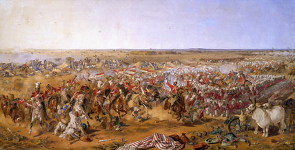 16th Lancers, Battle of Aliwal, 28 January 1846.