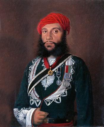 Rissaldar Mohubut Khan, 2nd Scinde Irregular Horse, 1852