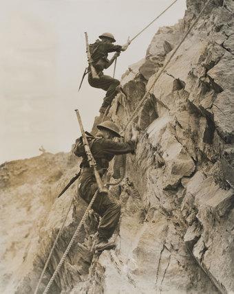 Commando Battle School, 1944