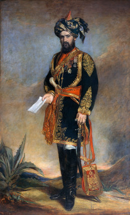 Colonel Probyn VC, 1867