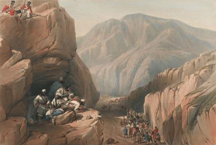 'The Wild Pass of Siri-Kajoor', 1840 (c)