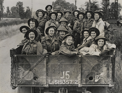 Queen Alexandra's Imperial Nursing Service, Normandy, June 1944
