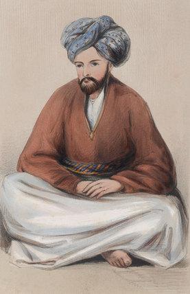 Lieutenant J B Conolly, Political Branch, Bala Hissar, 1842