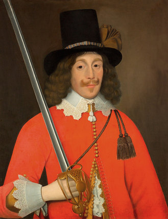 Portrait, traditionally said to be Colonel John Hutchinson, 1643 (c)