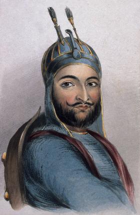 Mahommed Akbar Khan, 1842