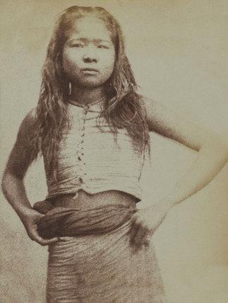 Burmese girl, 1852 (c)