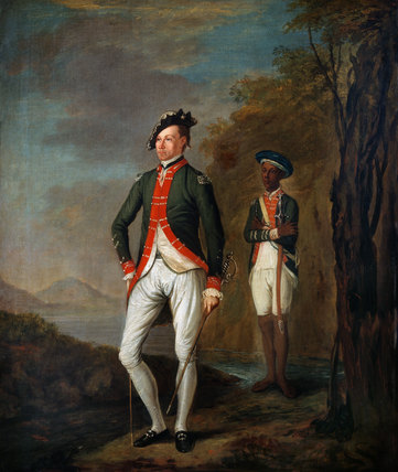 A British Officer of a Madras Sepoy Battalion, 1769 (c)