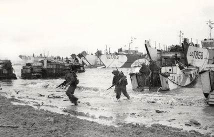 British commandos, Normandy, June 1944