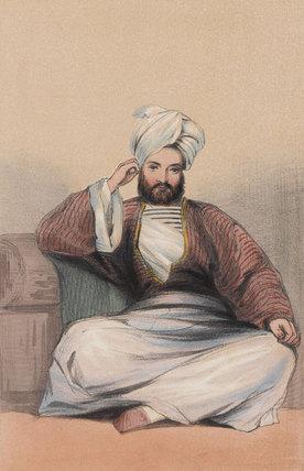 Captain Bulstrode Bygrave, Paymaster, 1842