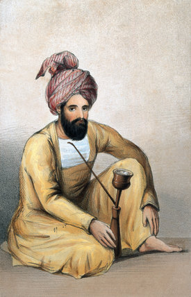 Captain W Anderson, Shah's Service, 1842