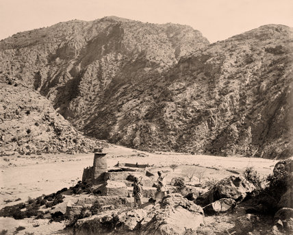 Ali Masjid fortress, Khyber Pass, Afghanistan, 1878 (c)