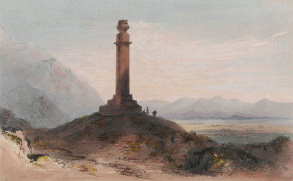 Alexander's Column near Cabul, 1842 (c)