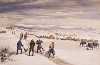 The Camp of the Second Division, January 1855
