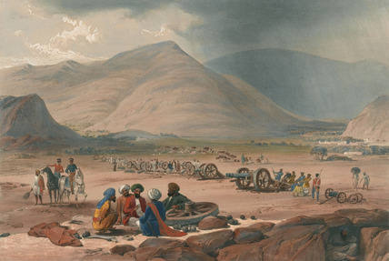 The Village of Urghundee, 1839 (c)