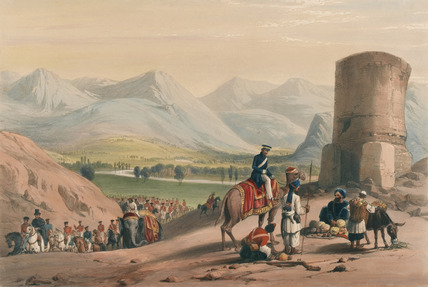 'The Valley of Maidan', 1839 (c)