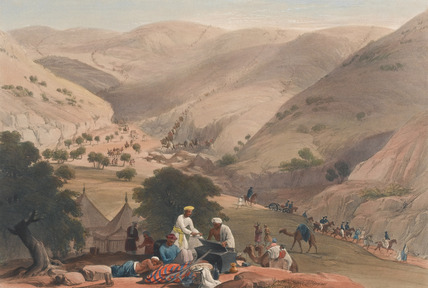 'The Third Descent of the Koojah Pass', 1839 (c)