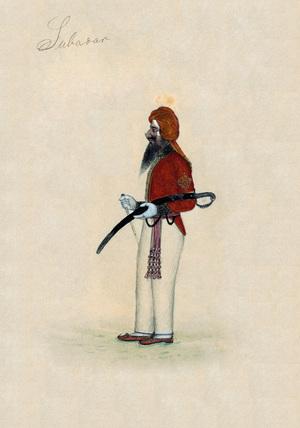 'Subedar', 1850 (c)