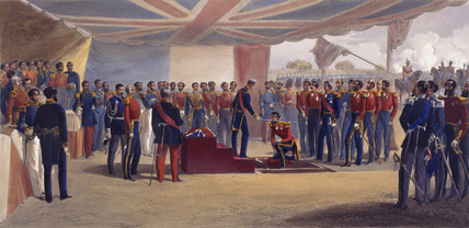 The Investiture of the Order of the Bath, Crimea, 1855