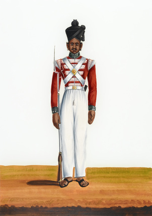 2nd Martin Battalion's Private, Madras Army, 1840 (c)