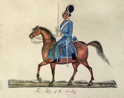 'The Sepoy of the Cavalry', 1835 (c)