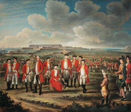 Lady Louisa Lennox with 25th Regiment, Menorca, 1771 (c)