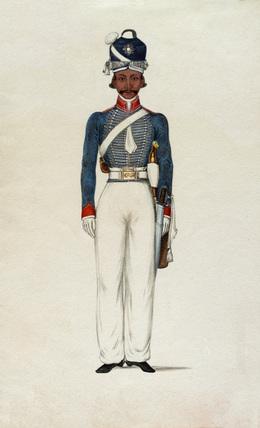 Sowar, Madras Light Cavalry, 1835 (c)