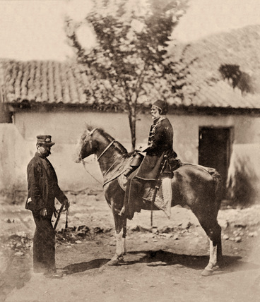 Omar Pasha and Colonel Lintorn Simmons, 1855