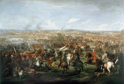 The Battle of Blenheim, 13 August 1704
