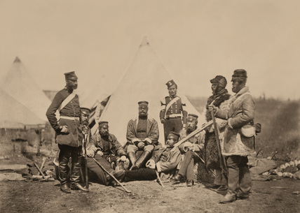 Officers and men of the 89th Regiment, 1855 (c)