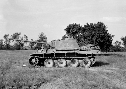 Army Tanks For Sale >> German Panther tank, 1944 by W H J Sale at National Army ...