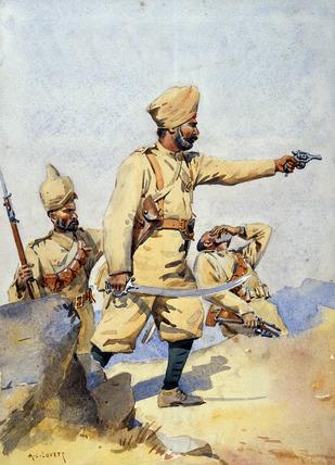 24th Punjabis, 1908 (c)