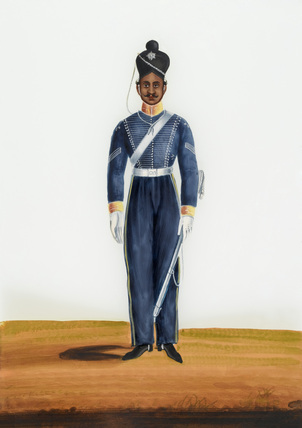 Cavalry Havildar, Madras Army, 1840 (c)
