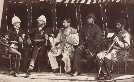 Major Pierre Louis Napoleon Cavagnari, 1878