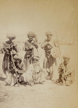 Pathan tribesmen, 1879 (c)