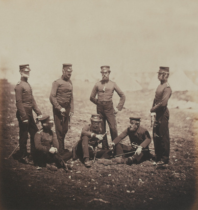 Officers of the 68th Light Infantry, 1855