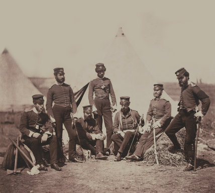 Officers of the 90th Regiment of Foot, 1855