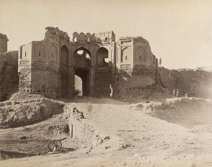 The Bala Hissar Gate, Kabul, 1879