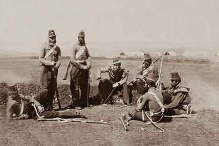 Chasseurs d'Afrique, 1855.