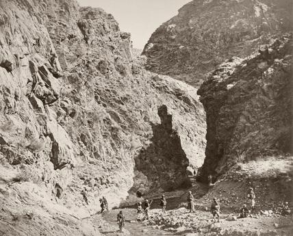 A defile in the Jagdalak, 1879 (c)