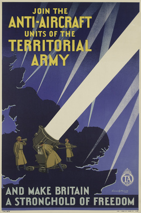 'Join the Anti-Aircraft Units of the Territorial Army', 1938