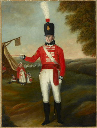 A senior NCO, 2nd (or the Queen's Royal) Regiment of Foot, 1806 (c)