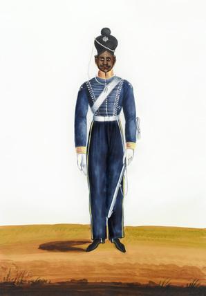 Cavalry Private, Madras Army, 1840 (c)