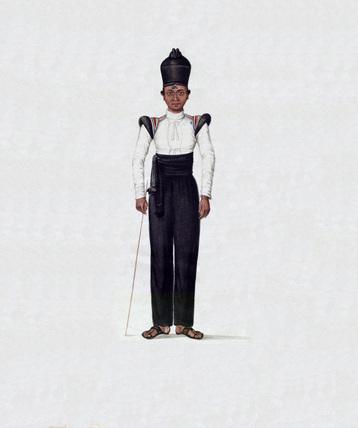 Orderly boy, Madras Army, 1835 (c)