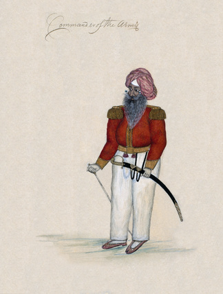 'Commander of the Army', 1850 (c)