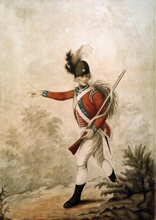 Light Infantry, 1791 (c)